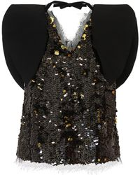 Rejina Pyo - Riona Sequinned Top - Lyst