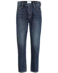 Current/Elliott - Jeans slim The Vintage a vita alta - Lyst