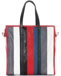 Balenciaga - Bazar M Leather Shopper - Lyst