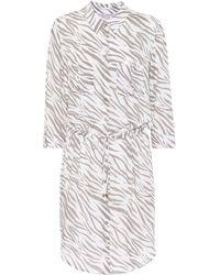 Heidi Klein - Zebra Printed Shirt-dress - Lyst
