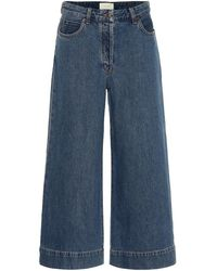 The Row - Jeans culottes Edna - Lyst
