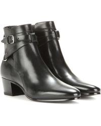 Saint Laurent - 'signature Blake 40' Jodhpur Ankle Boots - Lyst