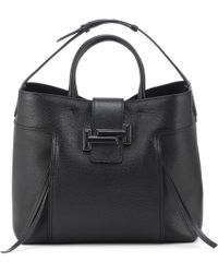 Tod's - Double T Leather Shopper - Lyst