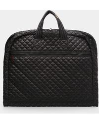 MZ Wallace - Black Quilted Michael Garment Bag - Lyst