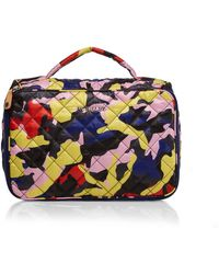 MZ Wallace - Zip Round Cosmetic - Lyst
