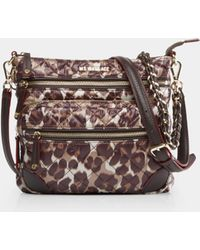 MZ Wallace - Quilted Leopard Downtown Crosby - Lyst