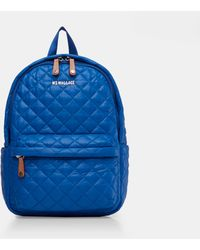 MZ Wallace - Quilted Tahiti Blue Small Metro Backpack - Lyst