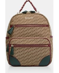 MZ Wallace - Jacquard Small Tribeca Backpack - Lyst