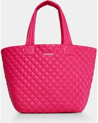 MZ Wallace - Quilted Dragon Fruit Medium Metro Tote - Lyst