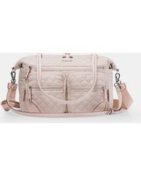 MZ Wallace - Quilted Mushroom Crosby Traveler - Lyst