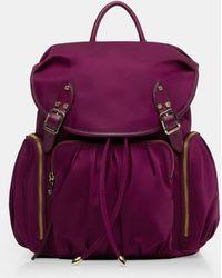 MZ Wallace - Elderberry Marlena Backpack - Lyst