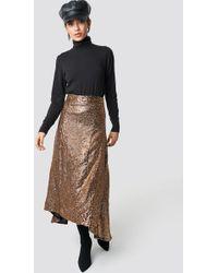 Gestuz - Tito Skirt Copper/black - Lyst