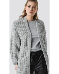 Mango - Twelve Cardigan Grey - Lyst