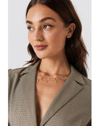 NA-KD - Mini Stars And Moon Necklace Gold - Lyst