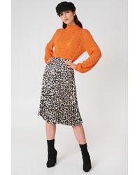 FWSS - Heidi Leopard Skirt - Lyst