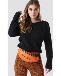 NA-KD - Basic Bum Bag Orange - Lyst
