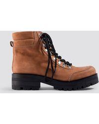 Gestuz - Sando Boots Caramel Caf - Lyst