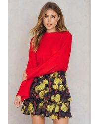NA-KD - Double Layers Smock Skirt - Lyst