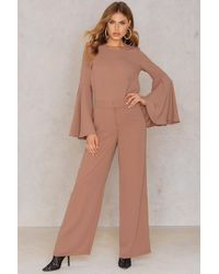 NA-KD - Flared Suiting Pants - Lyst