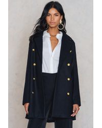 Rut&Circle | Nor Button Coat | Lyst