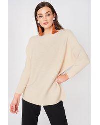 Mango - Fine-knit Oversize Sweater - Lyst