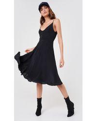 CALVIN KLEIN 205W39NYC - Deanna Crepe Prom Slip Dress - Lyst