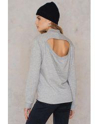 Cheap Monday - Regulate Sweat Grey Melange - Lyst