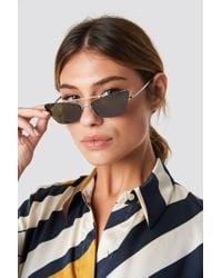 Mango - Hannah Sunglasses Silver - Lyst