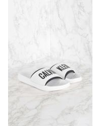 CALVIN KLEIN 205W39NYC - Slide Sandals - Lyst