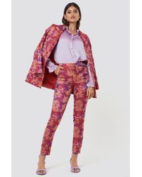 Gestuz - Soffy Trousers Poinsettia - Lyst
