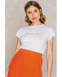 NA-KD - Your Loss Babe Tee - Lyst