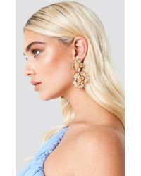 NA-KD - Oversize Flower Earrings - Lyst