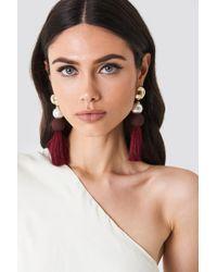 Trendyol - Multicolor Tassle Earrings - Lyst