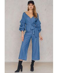 SHEIN - Culotte Jumpsuit - Lyst