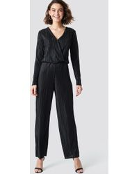 Rut&Circle - Pleated Jumpsuit - Lyst