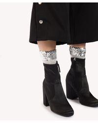 NA-KD - Glitter Sequin Socks - Lyst