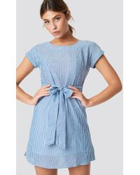 Mango - Bombay Dress Sky Blue - Lyst