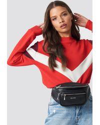 NA-KD - Multi Blocked Sweatshirt Red - Lyst