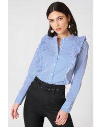 Rut&Circle - Malina Stripe Shirt - Lyst