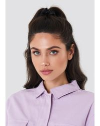 NA-KD - Satin Scrunchie - Lyst