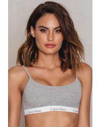 Calvin Klein - Bralette One Cotton - Lyst