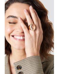 NA-KD - Glass Stone Ring - Lyst