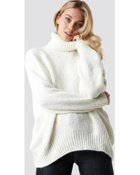 Mango - Egeo Sweater White - Lyst