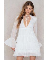 Boohoo - Ruffle Tiered Dress - Lyst