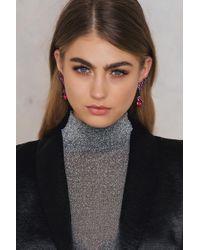 Trendyol - Hanging Crystal Earring - Lyst