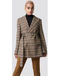 Mango - Structured Wool Blazer - Lyst
