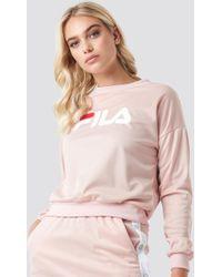 Fila - Justina Sweatshirt W/snap Buttons - Lyst