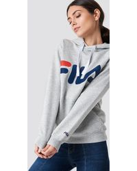 Fila - Classic Logo Hoody - Lyst