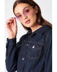 NA-KD - Metal Frame Cat Eye Sunglasses - Lyst