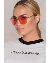 NA-KD - Colored Aviator Sunglasses - Lyst